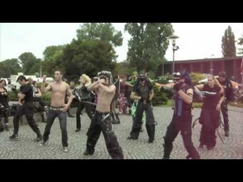Ext!ze Amphi festival 2010 Industrial Dance