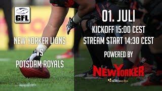 New Yorker Lions vs. Potsdam Royals