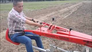 Rotary tiller mounted Thai walking Tractor