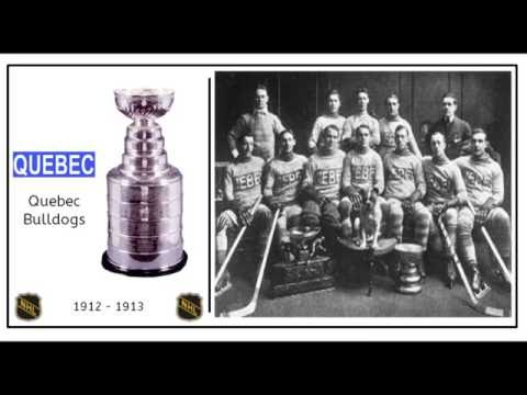 History of the NHL Stanley Cup Winners 1893-2016
