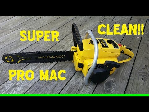 Auction Find: McCulloch Pro Mac 10-10 Chainsaw