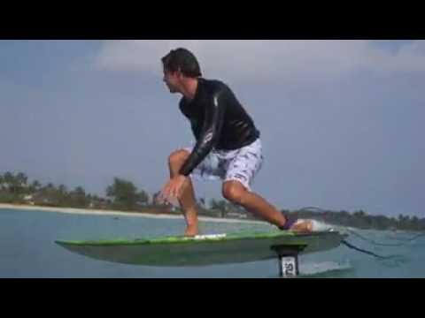 Kite Foils and Foil Boards