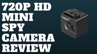 720P HD Mini Spy Camera Review