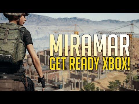 Desert Map Coming to Xbox in May - Miramar Gameplay (Playerunknown's Battlegrounds)