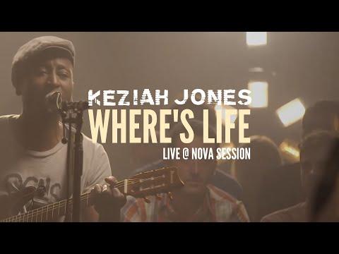 Keziah Jones - Where's Life (Live @ Nova Session)