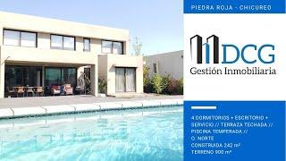 Venta Casa ubicada en Piedra Roja, Chicureo. Condominio Los Ríos.