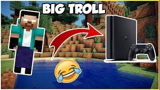 JE TROLL 2 KIKOO EN ME TRANSFORMANT EN PS4 ET EN OREO #1 !! Minecraft troll kikoo fr ! Minecraft ps4