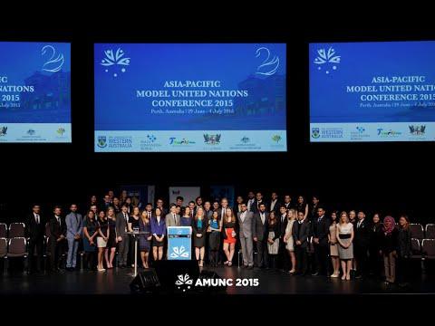 AMUNC 2015 - Opening Ceremony