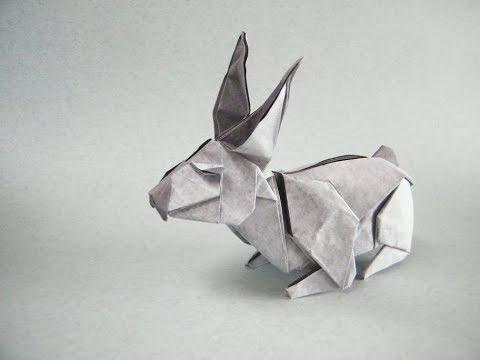 Origami rabbit by Fernando Castellanos