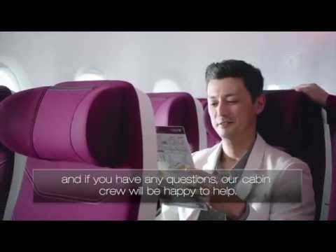 Qatar Airways Safety Video - Airbus A380