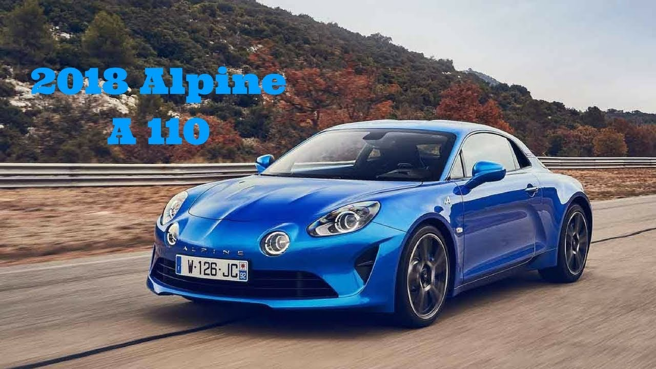 2018 renault alpine a110 youtube. Black Bedroom Furniture Sets. Home Design Ideas
