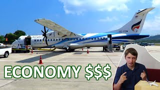 TRIP REPORT | Bangkok Airways ATR 72 | Phuket to Koh Samui | EXPENSIVE ECONOMY CLASS
