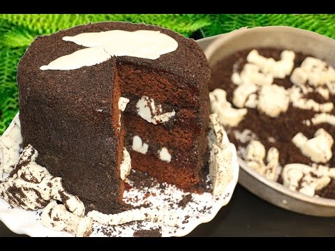 How To Make Dinosaur Fossil Cake