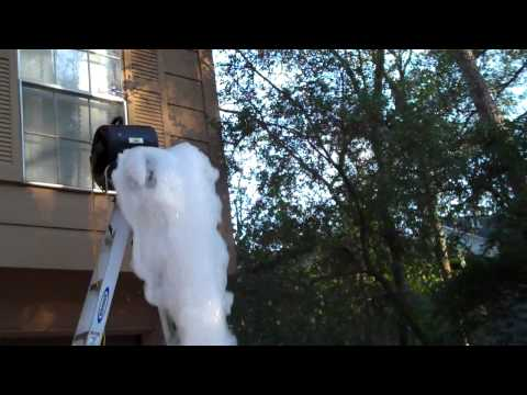 make your own foam machine