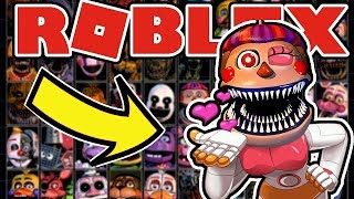 BECOMING SPRINGTRAP AND FREDDY IN NEW Roblox Ultimate Custom Night: Roleplay