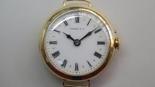 ★AGASSIZ  Made for Tiffany&co.  Quick Repair Guide  アガシ オーバーホール  vintagewatch