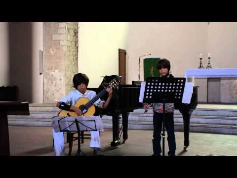 Libertango by Astor Piazolla  Performed by Andrew and Jackson Nahm