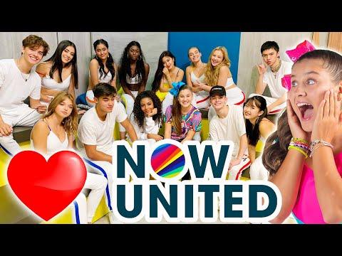 NOW UNITED AO VIVO ☆ Mileninha ☆ Youtube Space Rio de Janeiro 2019