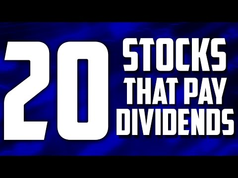 20 HIGHEST PAYING DIVIDEND STOCKS // CANADA BASED