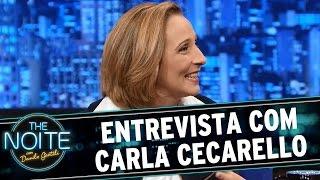 The Noite (26/08/15) - Entrevista com Carla Cecarello