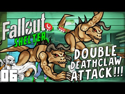 """DOUBLE FREAKING DEATHCLAW ATTACKS!!!"" Fallout Shelter (iOS/Android/PC)"