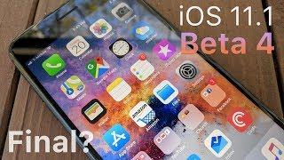 iOS 11.1 Beta 4 - What's New?