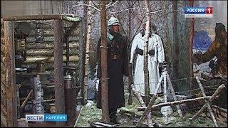 Выставка в музее военной истории Петрозаводска