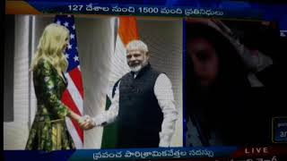 Modi giving comedy shake hand to Ivanka trump | 10 times😂😂