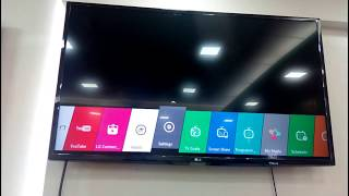 LG SMART TV Wlreless Network Setup LH570T 43''
