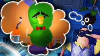 I GREW THIS BOOGER MONSTER IN HELLO NEIGHBOR'S DREAM! | Escape Your Dreams! (Sleepin' Deeply)