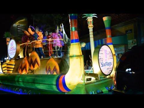 Mardi Gras Carnaval 2018 - Desfile Nocturno - Six Flags México