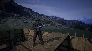 Outlaws of the old west EP 14 Horse paddock and more BUILDING