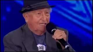 Por momentos se rien de este señor de 83 años pero despues los hace llorar en programa de Talento thumbnail