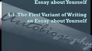 Essay about Yourself  - mqdefault - describe yourself essay