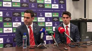 JvG and Joey Carbery react to epic struggle over Exeter