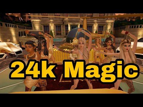 Bruno Mars - 24k Magic (Official Video)  | Avakin Life Lit version 🔥