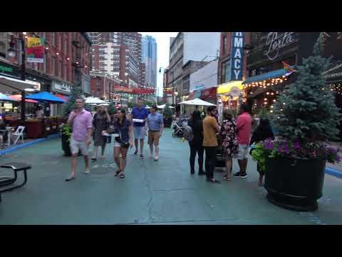 [4K] Walking On Newark Avenue In Jersey City New Jersey USA
