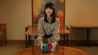 Marie Kondo on how to fold children's clothing