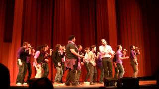 Ten40 Acappella 3rd Place Set - ICCA Great Lakes Semifinals 2015