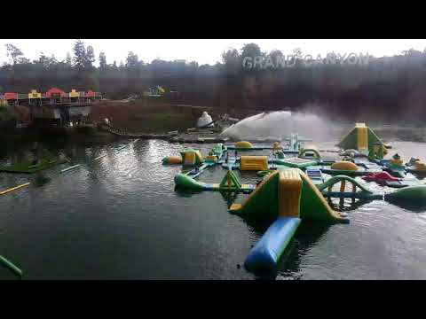Inflatable Water Park Equipment For Children And Adults