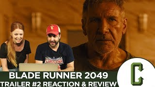 Blade Runner 2049 Trailer Reaction & Review - Collider Video streaming