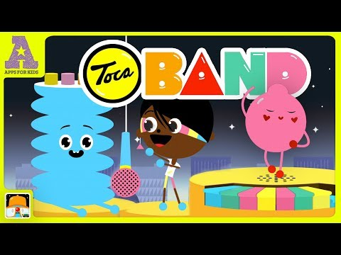 Get your groove on and compose your own tunes with TOCA BAND!