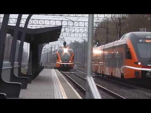 Trains at Kehra, Estonia 2014