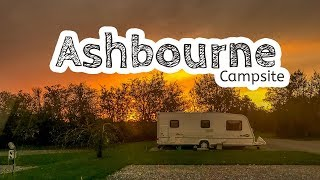 Ashbourne Campsite (and Carsington Water)