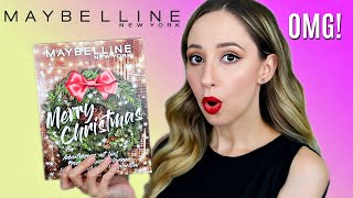 Maybelline Beauty Advent Calendar 2020 - Under $15!