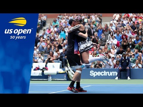 US Open Championship Moment: Mixed Doubles