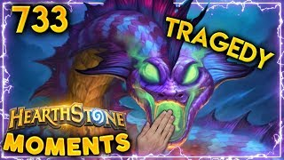 CAN YOU FEEL THE TRAGEDY TONIGHT?? | Hearthstone Daily Moments Ep. 733