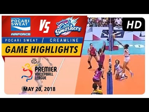PVL RC Season 2 - WD: Air Force Lady Warriors vs. Cool Smashers | Game Highlights | May 20, 2018