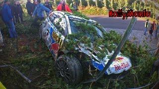 WRC ADAC Rallye Deutschland 2014 Crash Show HD