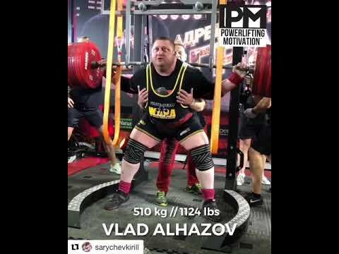 Vlad Alhazov 525 kg 1157 lbs